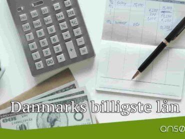 Danmarks billigste lån