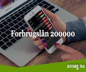 Forbrugslån 200000