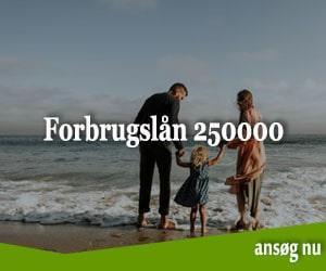 Forbrugslån 250000