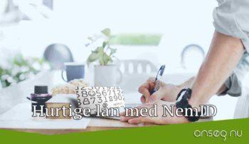 Hurtige lån med NemID