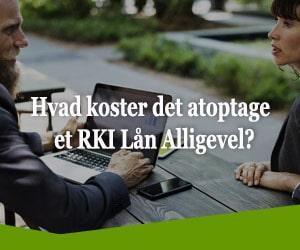 Hvad koster det at optage et RKI Lån Alligevel?