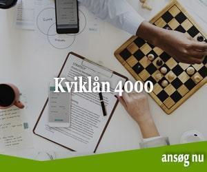 Kviklån 4000