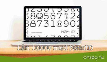 Lån 10000 med NemID