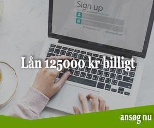 Lån 125000 kr billigt