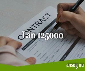 Lån 125000