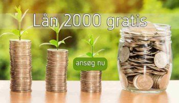 Lån 2000 gratis