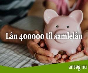Lån 400000 til samlelån