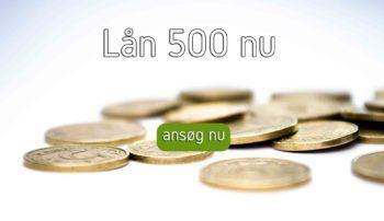 lån 500 nu