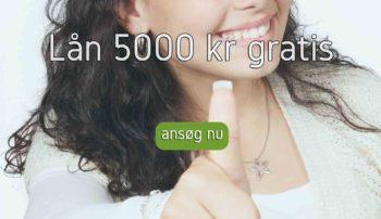 Lån 5000 kr gratis