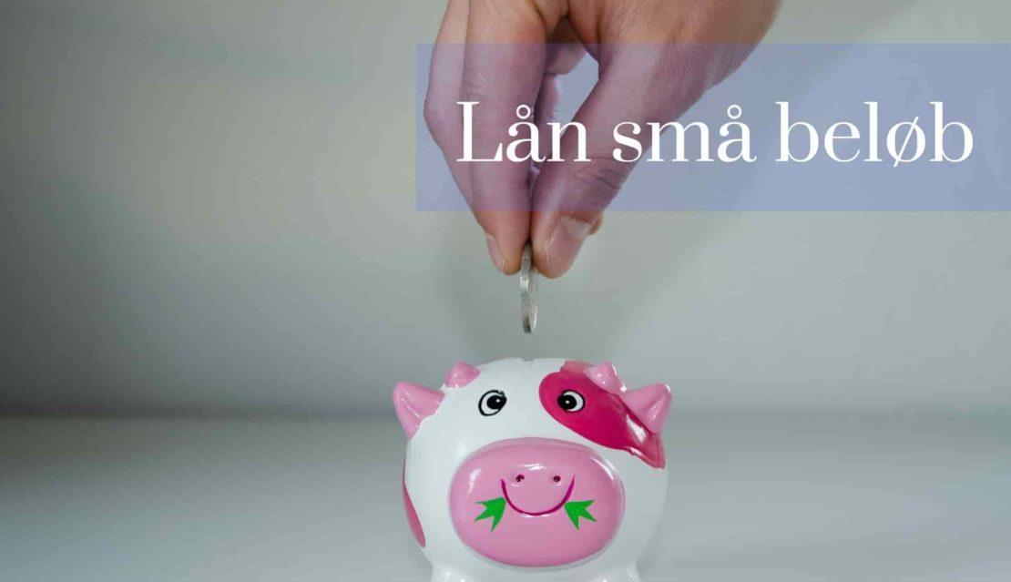 Lån små beløb