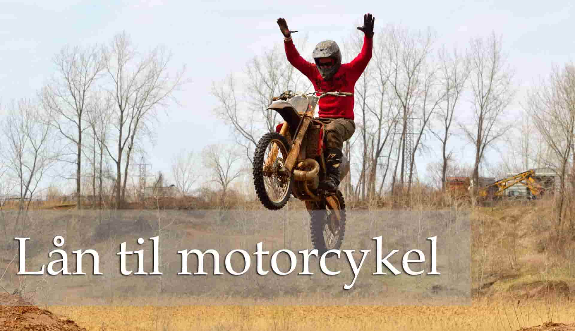 Lån til motorcykel