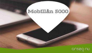 Mobillån 5000