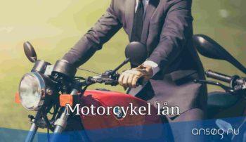 Motorcykel lån