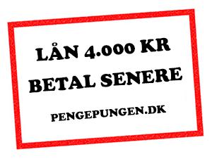 Mikrolån 4000 kr