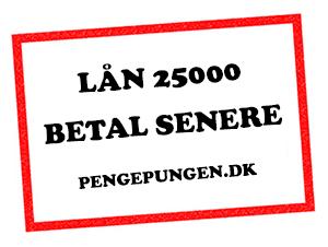 Lån 25000